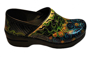 Custom Hand Painted Dansko Clogs