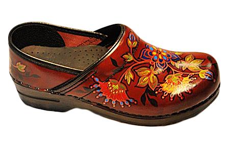 Hand Painted Dansko Footwear & Clogs